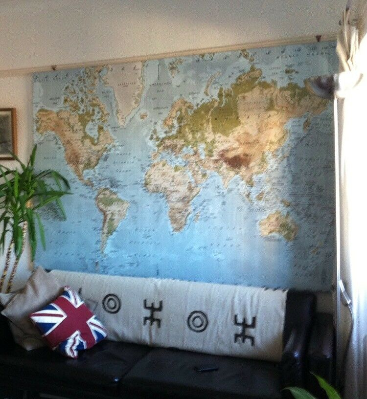 Rare Ikea Premiar world map (now discontinued) | in Westbury Park ...