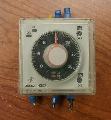 Omron H3cr Power-off Delay Timer 240v 5060 Hz 2736 Om