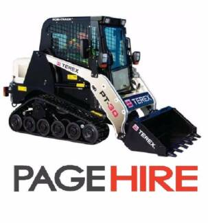 FOR HIRE - Terex PT30 Positrack - $350 PER DAY on a Trailer!