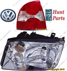 All VW Head Lamp Tail Headlight Headlamp light Fog Mirror Phare Avant Arrière Antibrouillard Lumière Brouillard Miroir