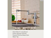 Kitchen tap - Brand new long spout mixer tap