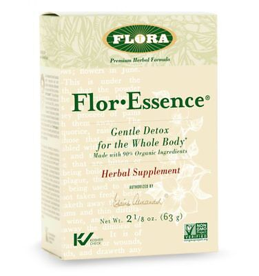 Flora Health - Flor Essence Dry Herbal Tea Blend - 2.2 oz.  - Flor Essence Detox Tea