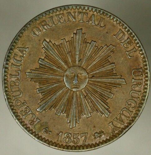 Uruguay 20 Centesimos 1857  AU     A1096
