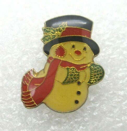 Snowman Lapel Pin (A425)