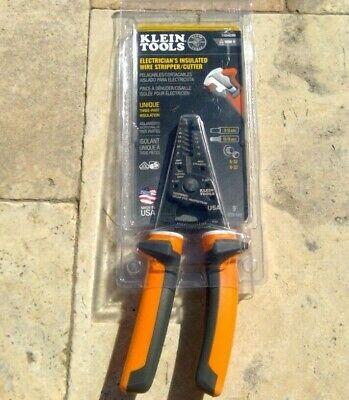 Klein Tools 11054eins Electricians Insulated Wire Strippercutter