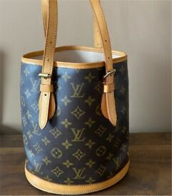 Authentic Louis Vuitton Bucket Handbag