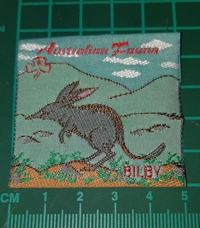 Australian Fauna Girl Guide Badge. - Bilby