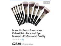 lamora make up brushes