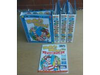 Where's Wally? Wally's World Magazine Collection Set in 4 Binders (1-52) and Sticker Atlas