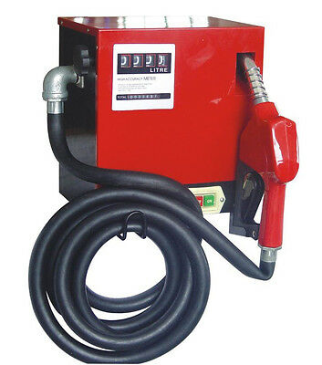 Electric Diesel/fuel dispensing kit 230V, WALL MOUNT