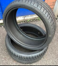 Pirelli 225 35 19 tyres x2