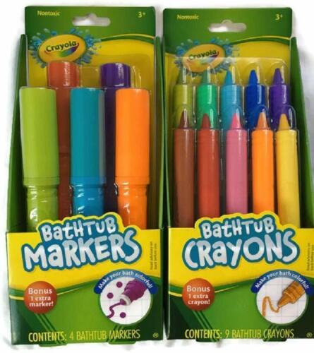 Crayola Bathtub Markers and Crayons Combo Kit