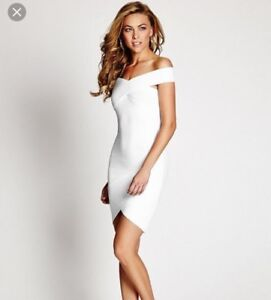 White Guess New Years Eve Dress