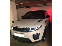 Hire / Rent Range Rover Evoque 2017 plate
