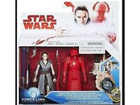 "Star Wars SPIDER-MAN C1243EL2 ""Rey Jedi Training and Elite Praetorian Guard"" (NEW)"