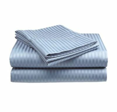 Best King Size Bed Sheets Set 100% Cotton Sheet Deep Pocket Fitted Flat 4 PC