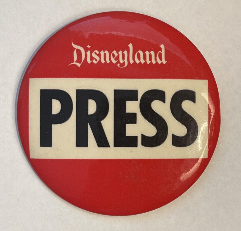Vintage Disney Pre 1968 Disneyland Press Button Pinback