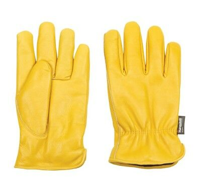 Well Lamont 1108xx Mens Xxl Cowhide Leather Work Gloves Yellow