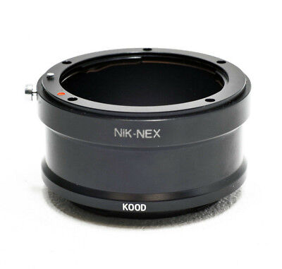 Nikon Ai F Lente Para sony Nex E- Montaje Cuerpo de Cámara...