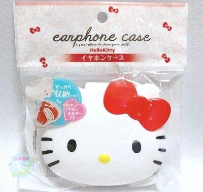 c014f80ce New SANRIO Hello Kitty Kawaii Tiny Cute Earbuds Earphones In-Ear Headphones  Case
