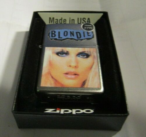 BLONDIE ZIPPO LIGHTER AUTHENTIC 2020 LICENSED ROCK N ROLL DEBBIE HARRY
