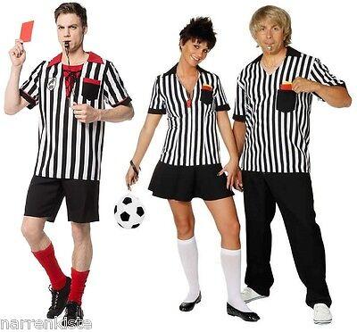 Schiedsrichterin Fußball Trikot Schiri Kostüm Fußballer (Richter Kleid Kostüm)