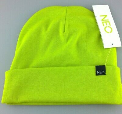 Adidas Neo Lime Beanie Hat One Size Fits All
