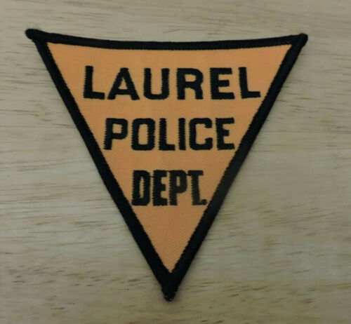 Patch Retired: Laurel Police Department Patch