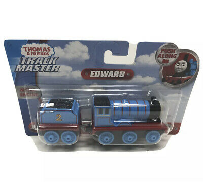New Fisher-Price Thomas & Friends Adventures Push Along Edward Trackmaster Gift