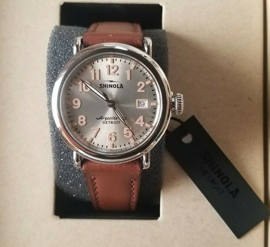 Shinola THE RUNWELL 36mm Women's Watch, 120095237 Brand NEW