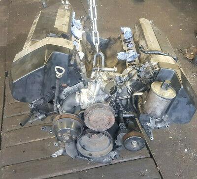 Mercedes W140 Motor Block Rumpfmotor Zylinderkopf 500 S SE SEL CL M119 970