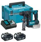Makita DHR171RTJ 18V Li-Ion accu SDS-plus boorhamer set (2..