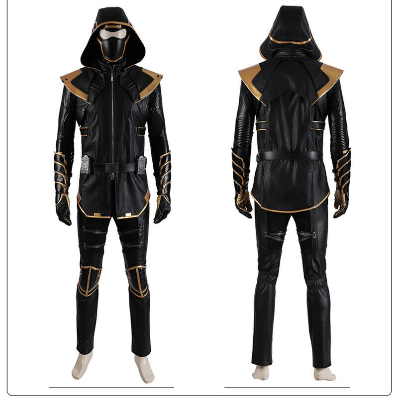 Avengers Endgame Quantum Uniform Cosplay Costume Leather Marvel Cosplay Outfits