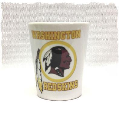 Washington Red Skins Ceramic Shot Glass (Washington Red Skins)