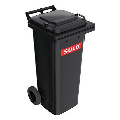 SULO Mülltonne, Mülleimer, Restmülltonne Abfall Behälter 80 L grau NEUWARE.