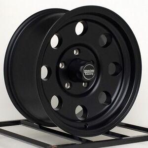 Chevy Tahoe Rims And Tires 16-inch-Black-Wheels-Rims-Chevy-GMC-Truck-Van-Tahoe-5-Lug-5x5-Jeep ...