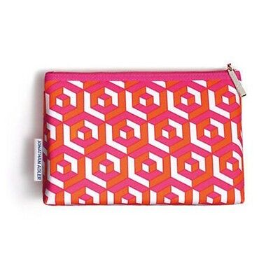 Clinique Jonathan Adler Print Cosmetic Makeup Bag Travel LIMITED EDITION Case