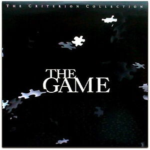 'THE GAME' Criterion Collection With AC-3 Sound - New & SEALED, Free Shipping!