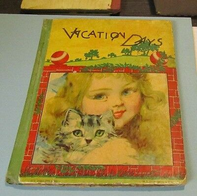 Vacation Days M.A. Donohue Children's Story Book 210 Bright Eyes Series Cat Girl Kids Storybook Girl