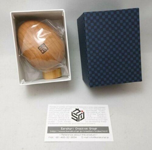 Japanese Trick Box (Karakuri Box) Egg Shipping from JAPAN