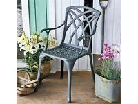 Garden chair aluminum brand new boxed x 2