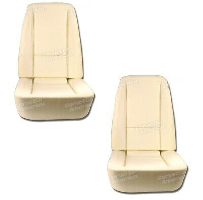 1968-1969 C3 Corvette NEW Seat Foam Bottom and Back Four Piece Set ()