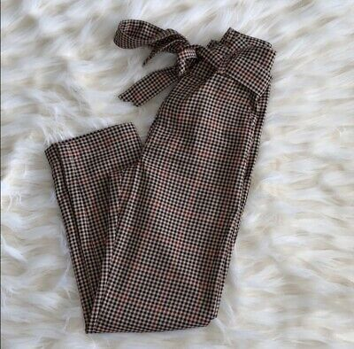 NWT Abercrombie high waist belted pant