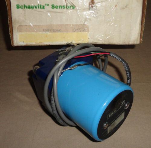 Schaevitz Sensor P3061-200WD Pressure Sensor Transducer P3061200WD Lucas NEW