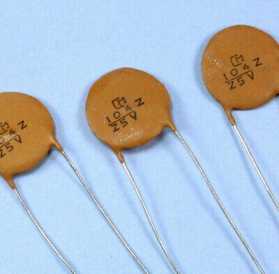 20 x 3.3nF Ceramic Disc Capacitor 50v Cap 10/% Radial Lead 50 v 3.3 nf LEDs Caps