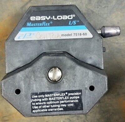 Cole Parmer Masterflex Pump Head Peristaltic Easy Load 7518-60