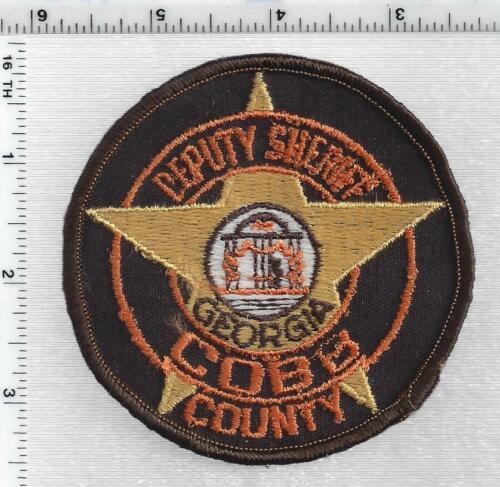 Cobb County Deputy Sheriff (Georgia) 1st Issue Shoulder Patch