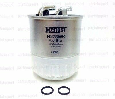 Mercedes, Dodge Sprinter OE Quality Diesel Fuel Filter 6460920701, Hengst H278WK