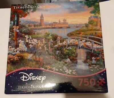 Thomas Kinkade Disney Puzzle 101 Dalmatians 750 Ceaco Puzzle READ DESCRIPTION