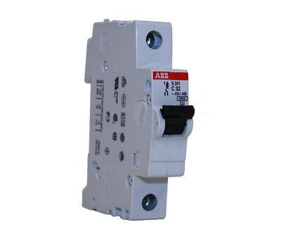 ABB S203-C20 Miniature Circuit Breaker 20A 3 Pole 277//480VAC DIN Rail New in Box